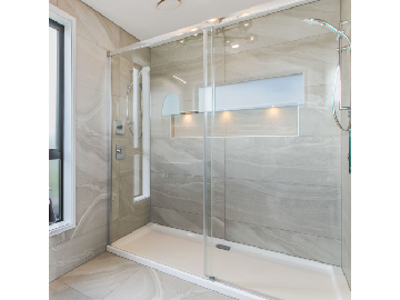 athena motio sliding door shower